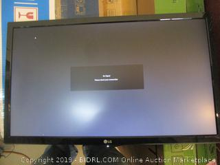 LG LED Monitor with accessories