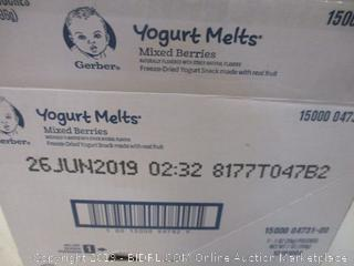 Yogurt Melts Mixed Berries