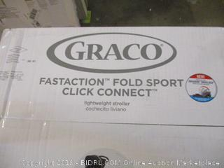 Graco Fastaction Fold Sport Click Connect Lightweight Stroller