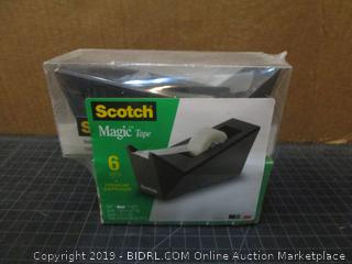 Scotch Magic Tape/ 1 Dispenser / 6 Rolls