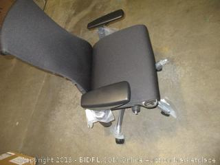 Herman Miller Embody Chair - Graphite Frame/Black Rhythm Textile (Retail $1,395.00)