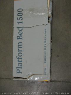 Platform Bed 1500, Queen