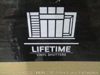 Lifetime Shutters