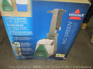 Bissell Big Green Professional Carpet Cleaner Machine, 86T3 (Retail $399.00)