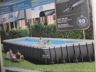 Intex Rectangular Pool, 32 ft