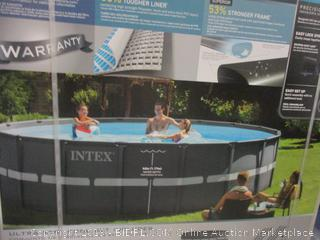 Intex Pool, 18 ft
