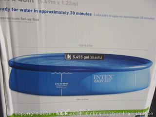 Intex Easy Set Pool, 18 ft