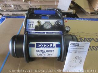 Excell 2-Gallon Portable Air Compressor