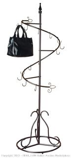 Purse Handbag Metal Display Tree Stand/Coat Rack (online $134) Purse not Included