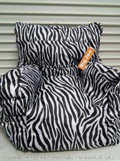 Big Joe Bean Bag Zebra Chair (online $35)