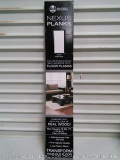White Oak 6 x 36 Self Adhesive Vinyl Floor Planks