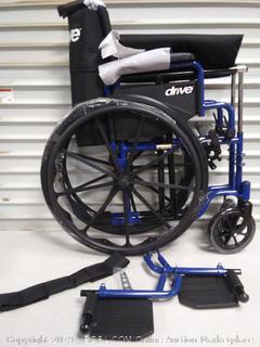 Blue Streak Wheelchair (online $94)