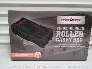 Three Burner Roller Carry Bag