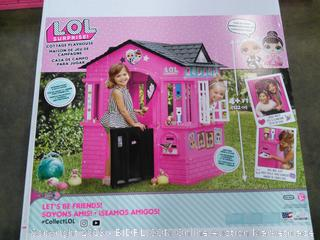 Lol Cottage Playhouse- 4 ft tall