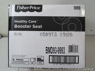 Fisher Price- healthy care booster seat
