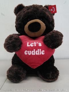 Let's cuddle bear