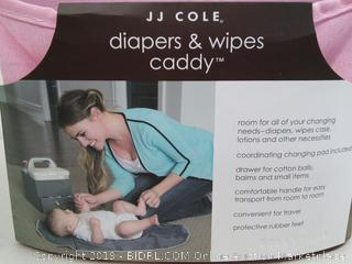 JJ Cole Diaper and Wipes Caddy