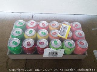 Bubly Sparkling Water Sampler Flavors 18 Pack