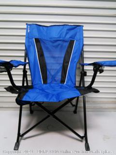 Folding Chair (chair and bag torn, see photos)