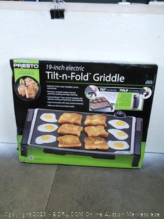Tilt-n-Fold Griddle