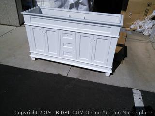 "Bryton 59"" Double Bath Vanity (online $1200)"