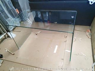 Writing Desk Tempered Glass (online $648)