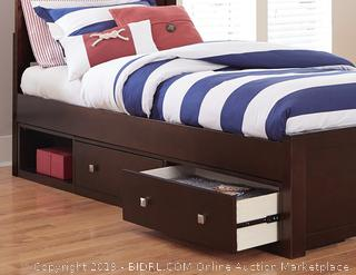 Twin Bed Set (online $385) (bedding items not included)