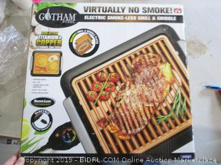 Electric Smoke-less Grill & Griddle