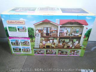 Calico Critters Red Roof Country Home (online $46)