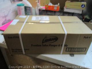 4-Libman Premium Toilet Plunger & Caddy
