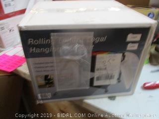 Rolling Letter Hanging File Cart