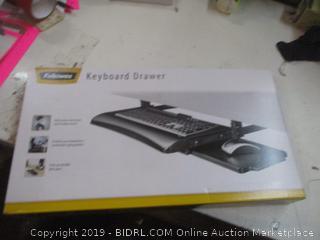 Fellows Desk ready Keyboard Drawer