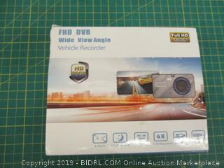 FHD DVR Wide View Angle Vehicle Recorder