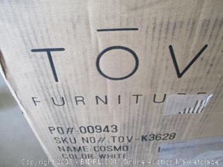 TOV COSMO STAINLESS STEEL BARSTOOL