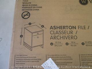 ASHERTON FILE
