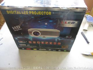 DIGITAL LED PROJECTOR (POWERS ON)