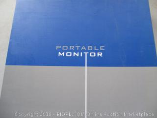 PORTABLE MONITOR (POWERS ON)