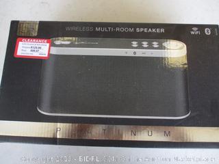 ILIVE WIRELESS MULTI-ROOM SPEAKER (POWERS ON)