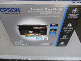 EPSON EXPRESSION HOME XP-440 PRINTER (POWERS ON)