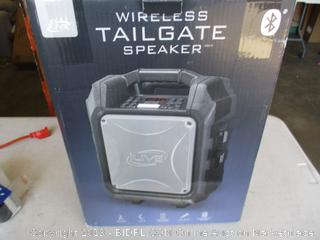 ILIVE WIRELESS TAILGATE SPEAKER (POWERS ON)