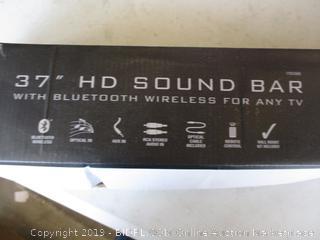 "ILIVE 37"" HD SOUND BAR (POWERS ON)"