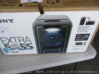 SONY HOME AUDIO SYSTEM (POWERS ON)