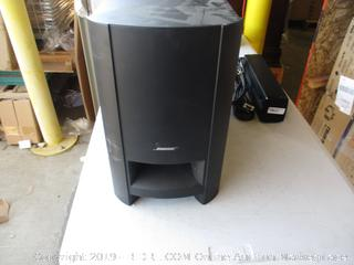 BOSE HOME THEATER SYSTEM (MISSING PARTS)