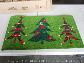 CHRISTMAS TREE DOORMAT