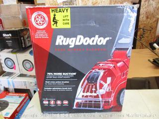 RUG DOCTOR DEEP CARPET CLEANER (POWERS ON)
