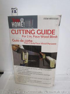 Trim Home Cutting Guide