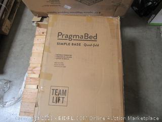 Pragma Bed Simple Base Mattress Foundation Item