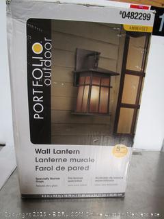 Portfolio Outdoor Lantern