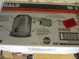Halo Recessed Lighting Housing