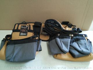 Carpenter's Rig Tool Belt Suspenders (online $46)